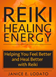 Custom book cover designed by Gatekeeper Press for Reiki Healing Energy