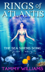 Custom book cover designed by Gatekeeper Press for The Rings of Atlantis