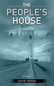 Custom book cover designed by Gatekeeper Press for The People's House